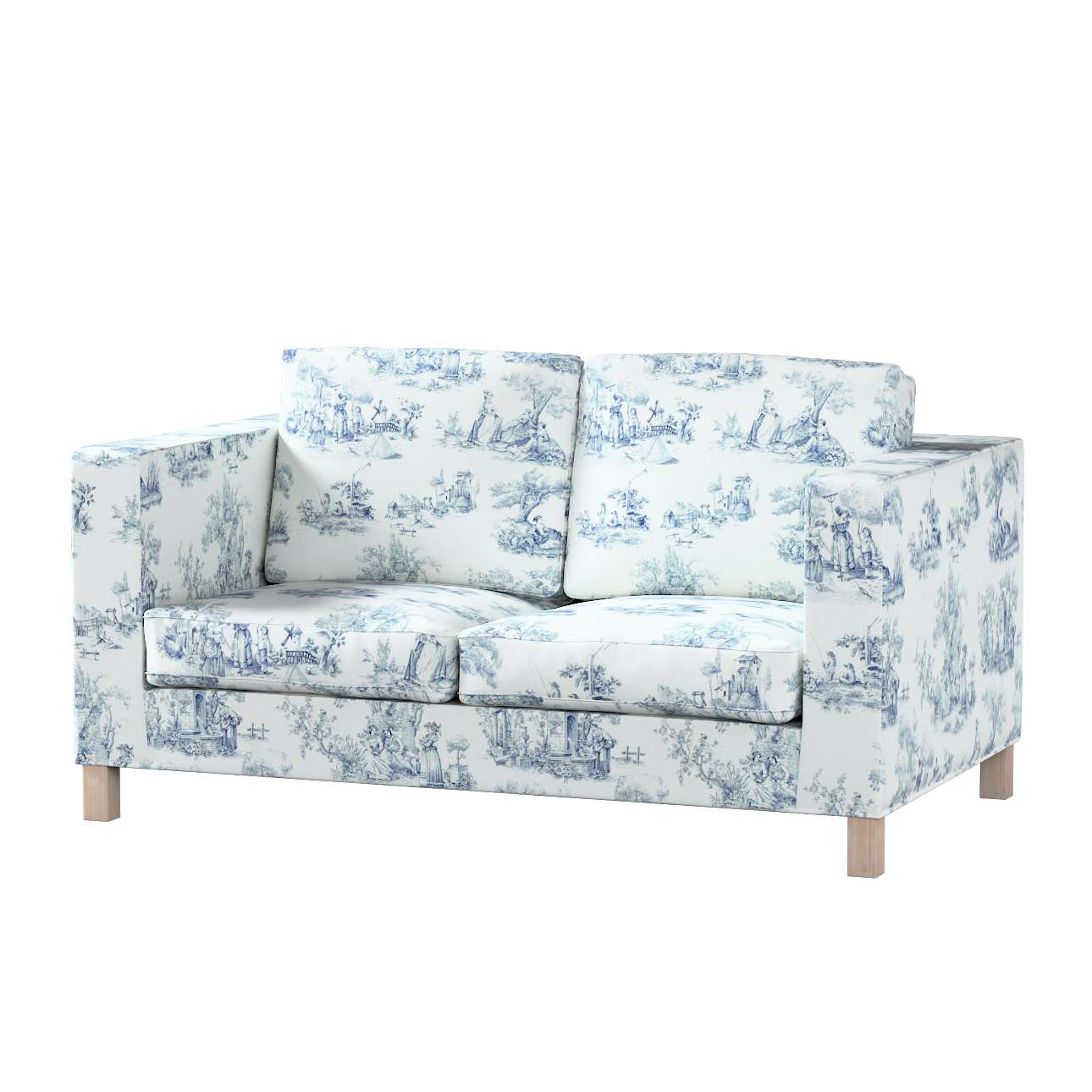 Karlanda 2-Sitzer Sofabezug nicht ausklappbar kurz Karlanda 2-Sitzer von der Kollektion Avinon, Stoff: 132-66
