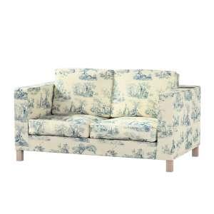 Pokrowiec na sofę Karlanda 2-osobową nierozkładaną, krótki Sofa Karlanda 2-os w kolekcji Avinon, tkanina: 132-66