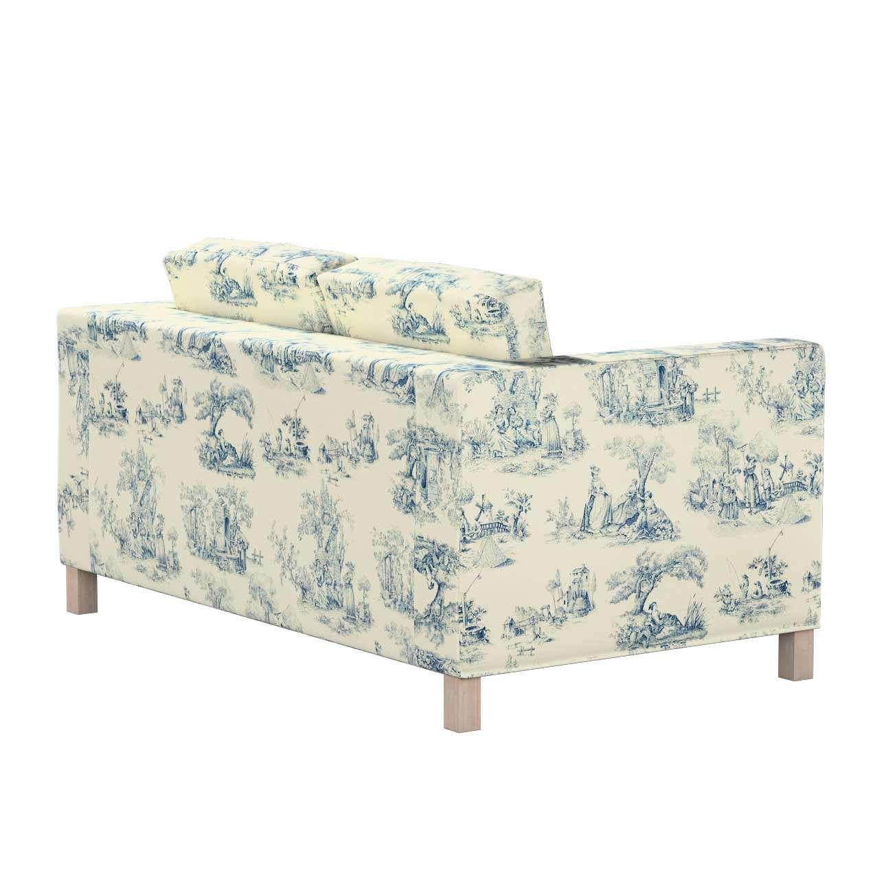 Pokrowiec na sofę Karlanda 2-osobową nierozkładaną, krótki w kolekcji Avinon, tkanina: 132-66
