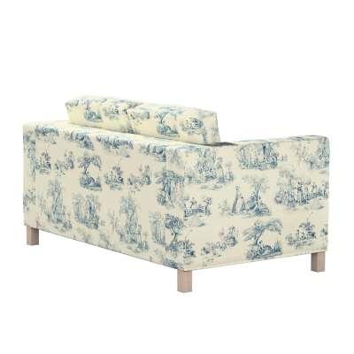 Bezug für Karlanda 2-Sitzer Sofa nicht ausklappbar, kurz von der Kollektion Avinon, Stoff: 132-66