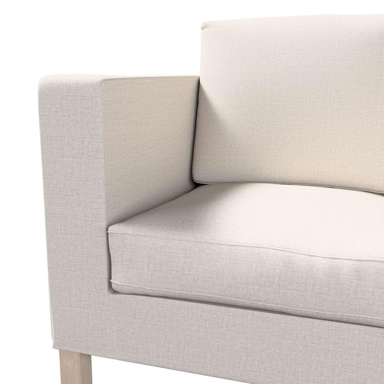 Pokrowiec na sofę Karlanda 2-osobową nierozkładaną, krótki w kolekcji Living, tkanina: 161-00