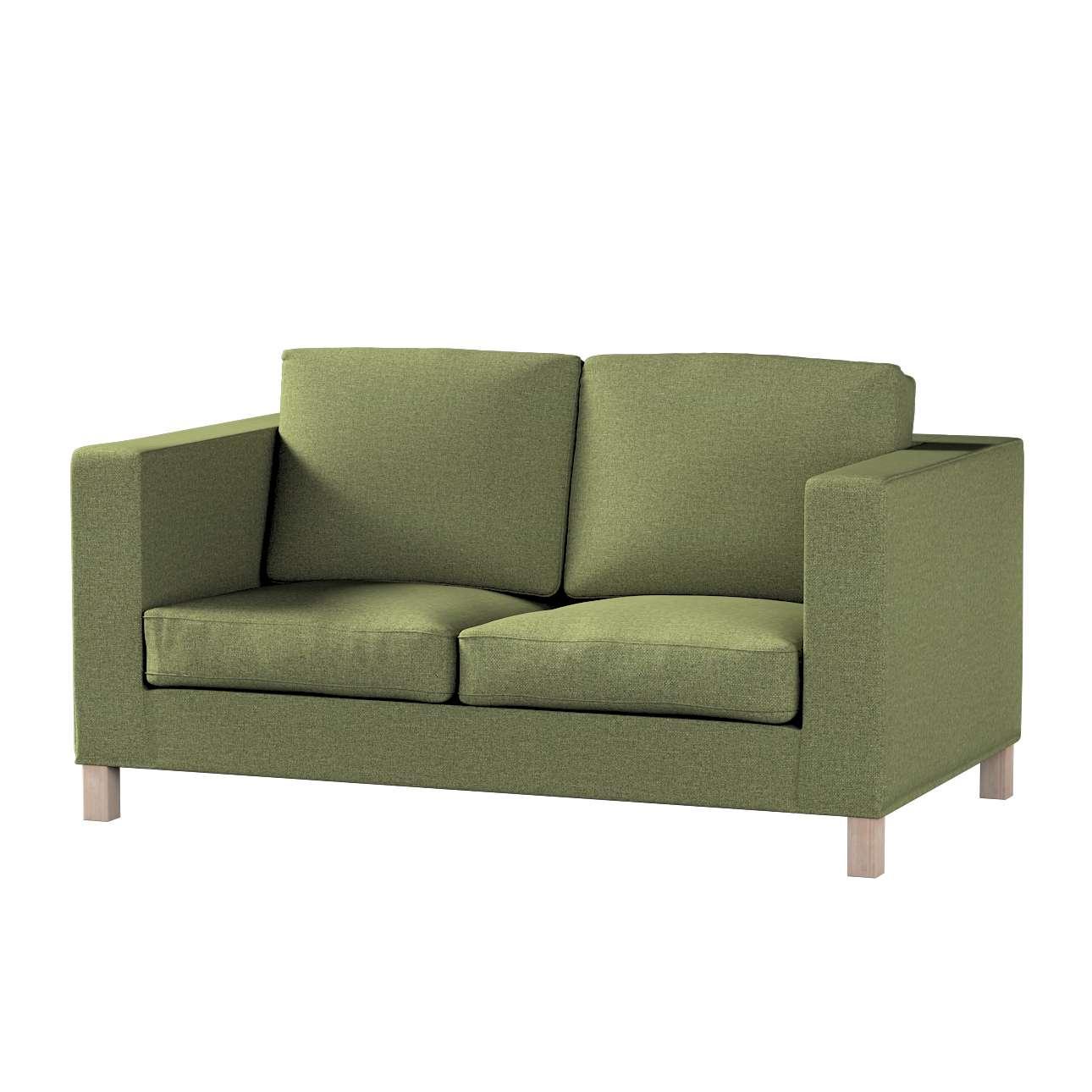 Pokrowiec na sofę Karlanda 2-osobową nierozkładaną, krótki w kolekcji Madrid, tkanina: 161-22