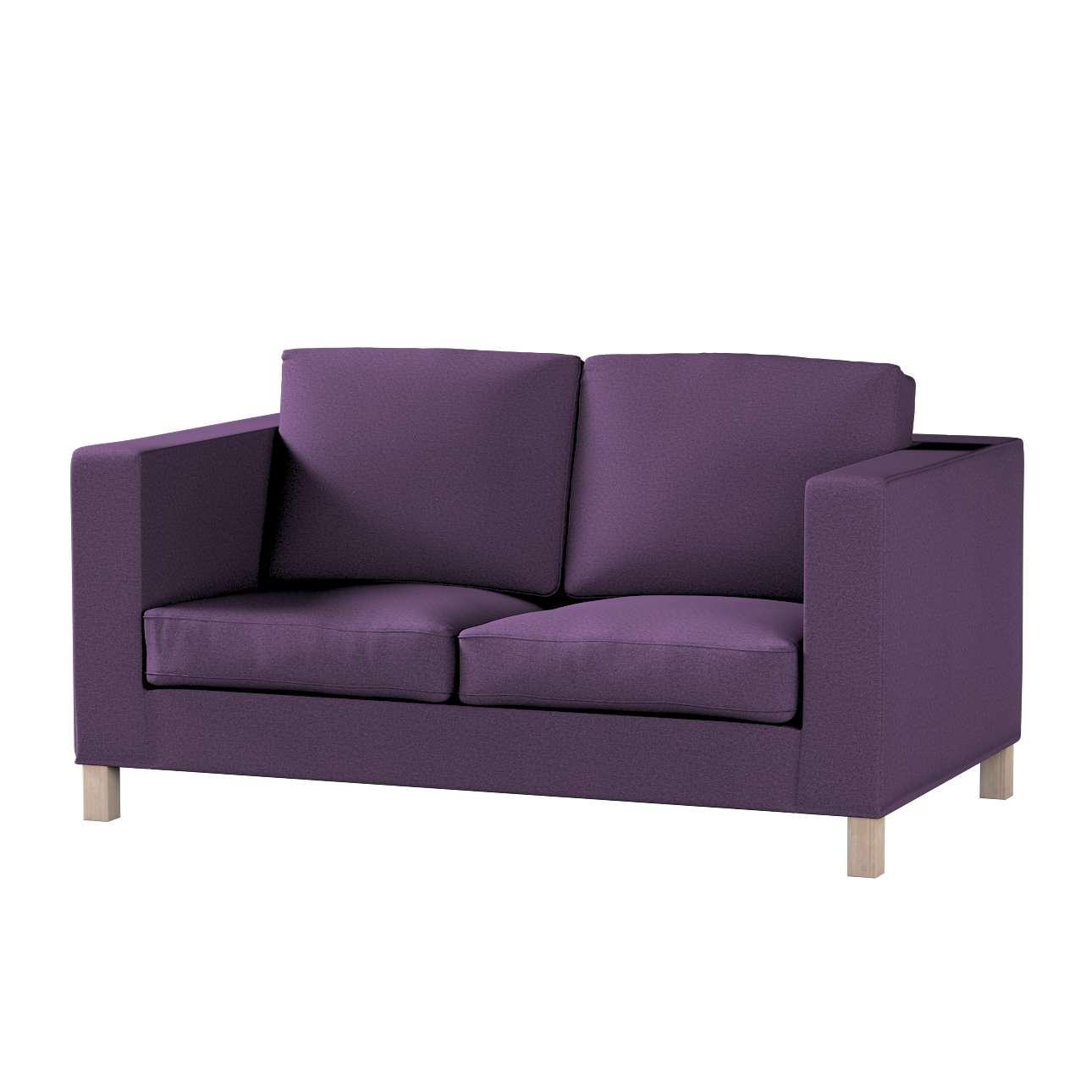 Bezug für Karlanda 2-Sitzer Sofa nicht ausklappbar, kurz von der Kollektion Etna, Stoff: 161-27
