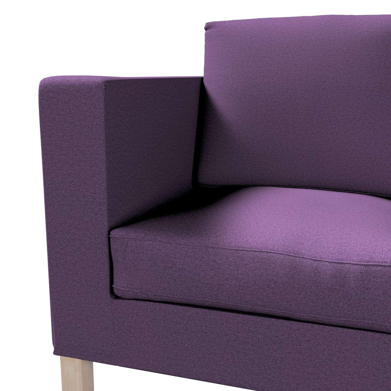 Pokrowiec na sofę Karlanda 2-osobową nierozkładaną, krótki w kolekcji Etna, tkanina: 161-27