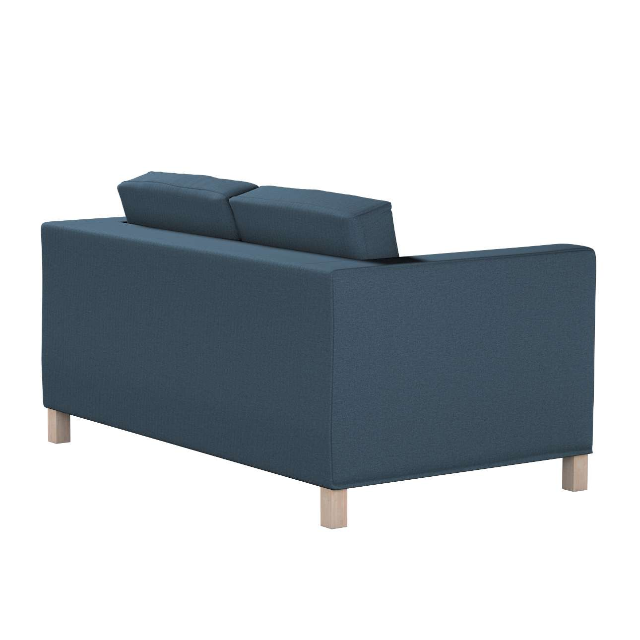 Pokrowiec na sofę Karlanda 2-osobową nierozkładaną, krótki w kolekcji Etna, tkanina: 705-30