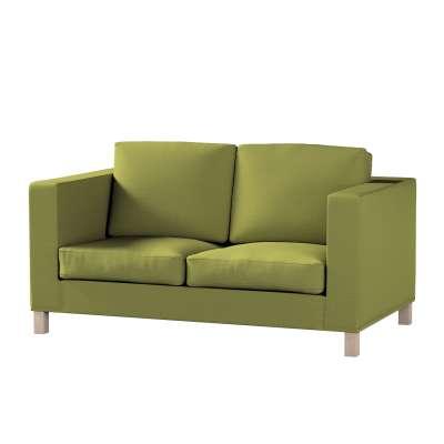 Pokrowiec na sofę Karlanda 2-osobową nierozkładaną, krótki w kolekcji Living II, tkanina: 161-13