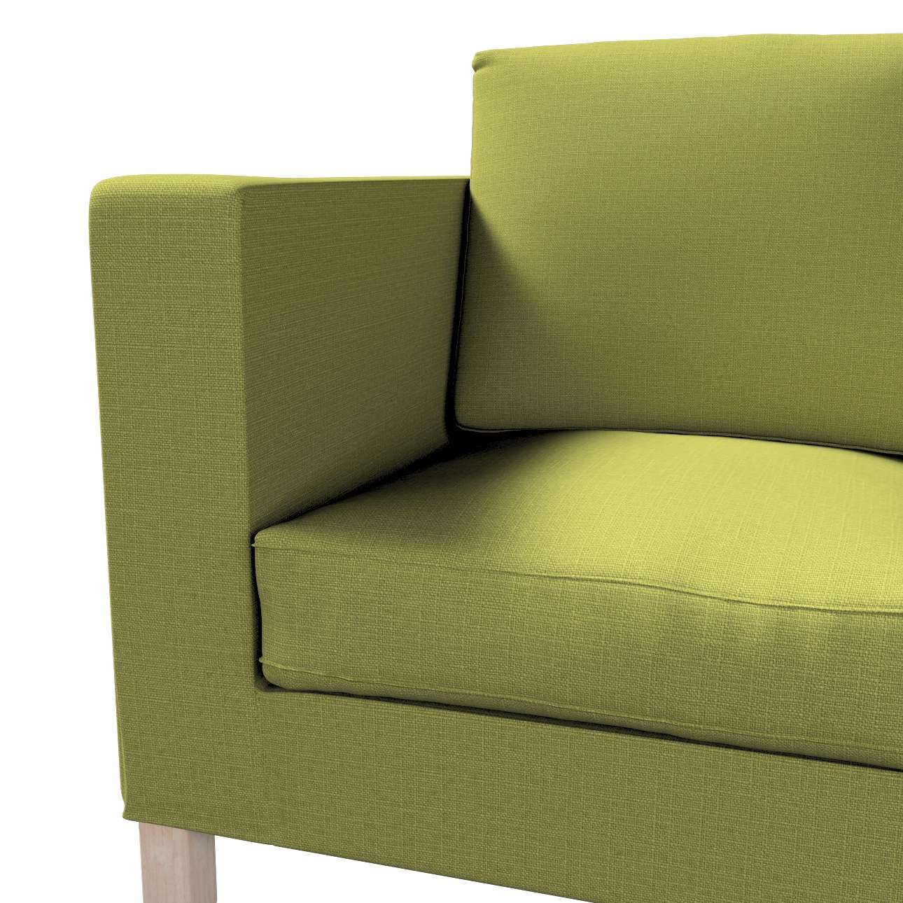 Potah na pohovku IKEA  Karlanda 2-místná, krátký v kolekci Living II, látka: 161-13