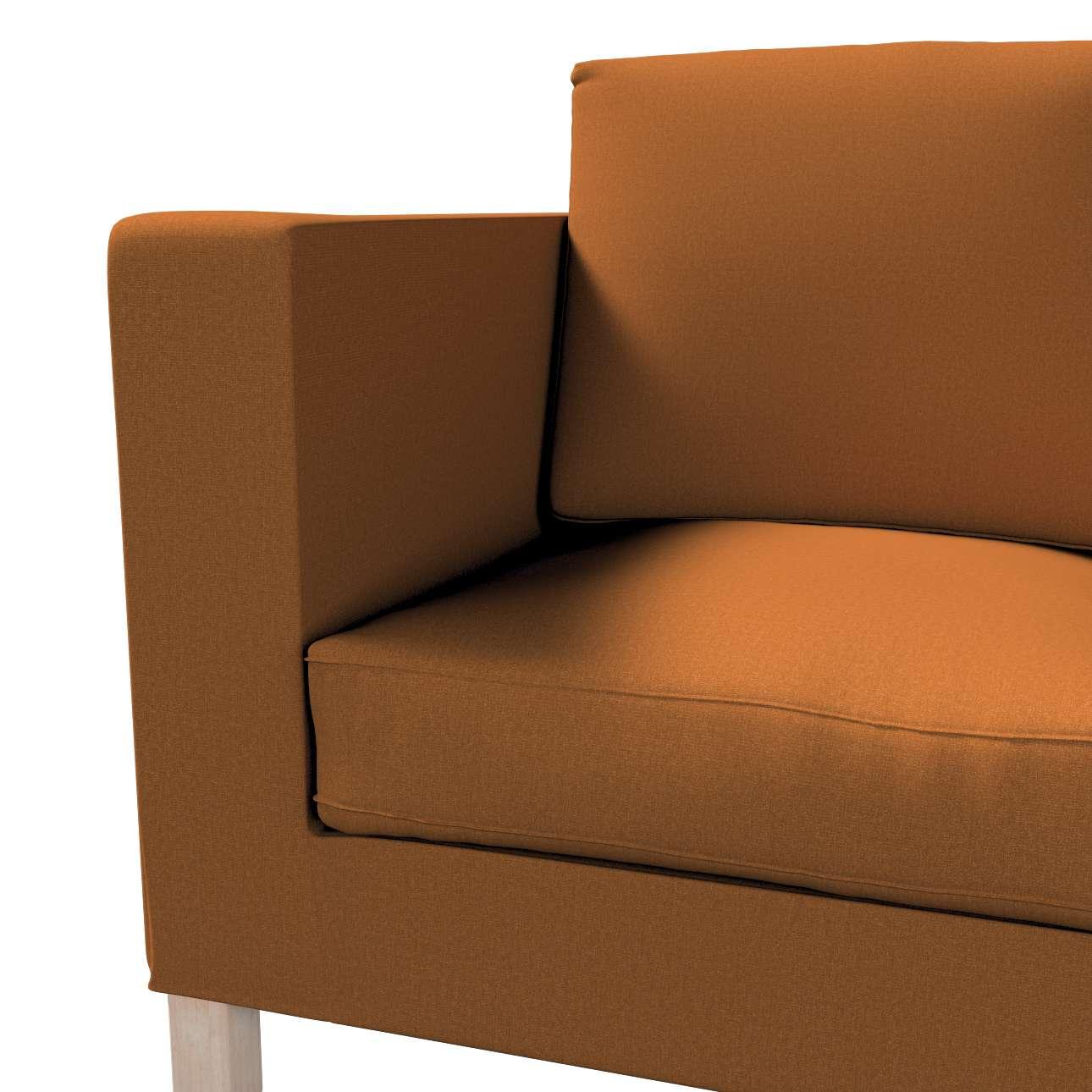Bezug für Karlanda 2-Sitzer Sofa nicht ausklappbar, kurz von der Kollektion Living II, Stoff: 161-28