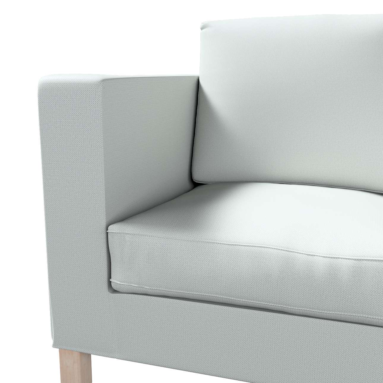 Pokrowiec na sofę Karlanda 2-osobową nierozkładaną, krótki w kolekcji Bergen, tkanina: 161-72