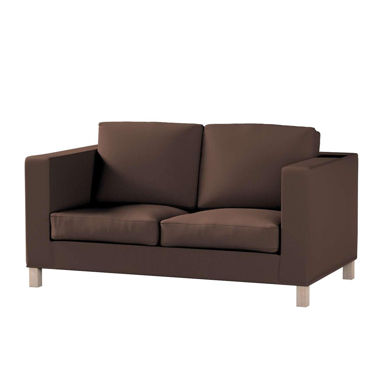 Pokrowiec na sofę Karlanda 2-osobową nierozkładaną, krótki w kolekcji Bergen, tkanina: 161-73