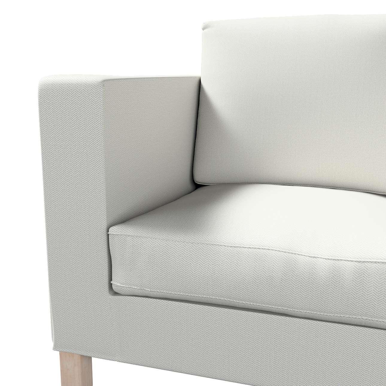 Huzat Karlanda 2-üléses kanapéra, nem kinyitható, rövid a kollekcióból Bergen, Dekoranyag: 161-84