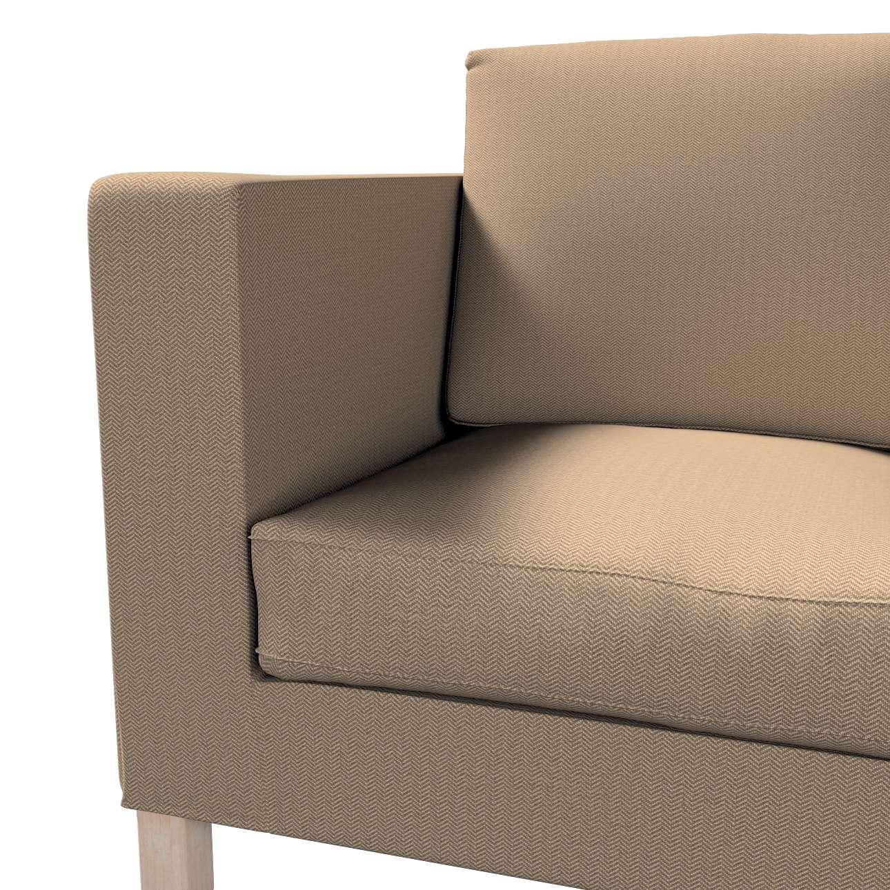 Pokrowiec na sofę Karlanda 2-osobową nierozkładaną, krótki w kolekcji Bergen, tkanina: 161-85