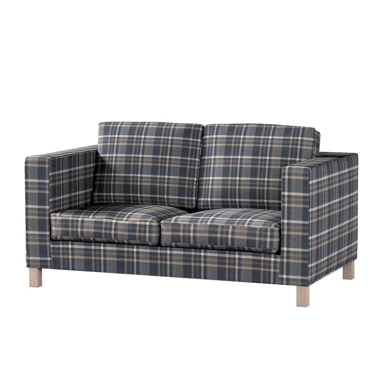 Pokrowiec na sofę Karlanda 2-osobową nierozkładaną, krótki w kolekcji Edinburgh, tkanina: 703-16