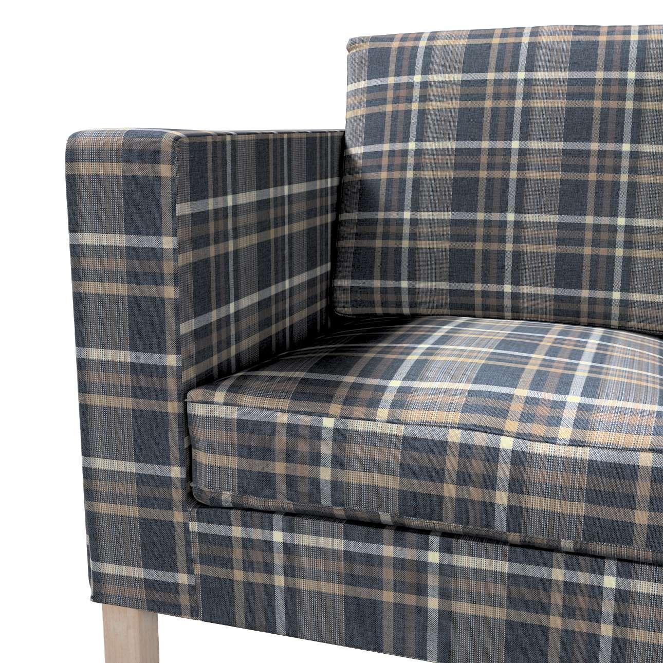 Potah na pohovku IKEA  Karlanda 2-místná, krátký v kolekci Edinburgh, látka: 703-16