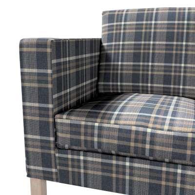 Bezug für Karlanda 2-Sitzer Sofa nicht ausklappbar, kurz von der Kollektion Edinburgh , Stoff: 703-16