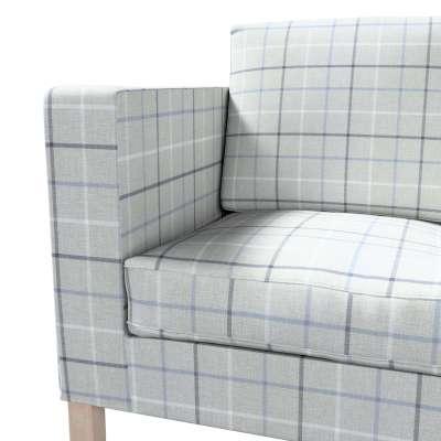 Pokrowiec na sofę Karlanda 2-osobową nierozkładaną, krótki w kolekcji Edinburgh, tkanina: 703-18