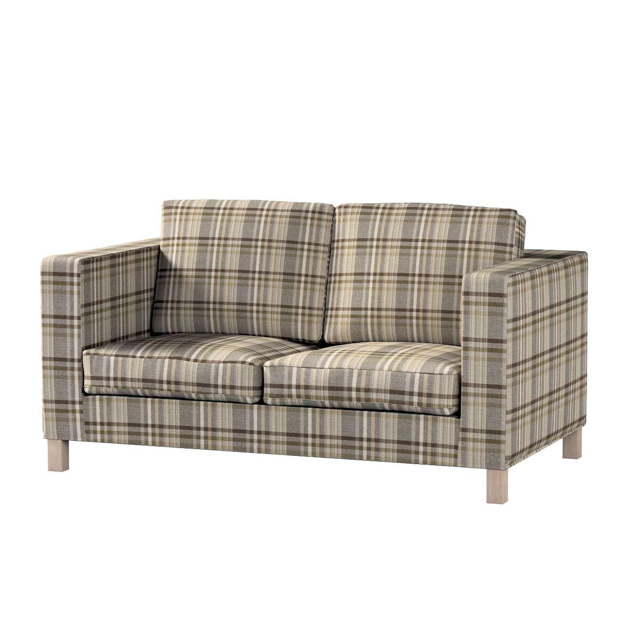 Potah na pohovku IKEA  Karlanda 2-místná, krátký v kolekci Edinburgh, látka: 703-17