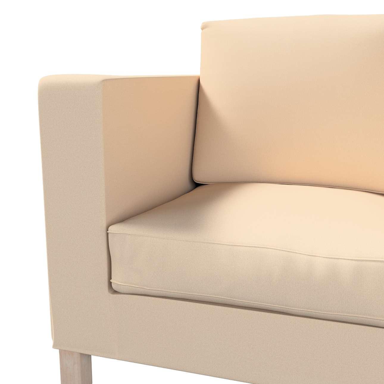 Bezug für Karlanda 2-Sitzer Sofa nicht ausklappbar, kurz von der Kollektion Living, Stoff: 160-61
