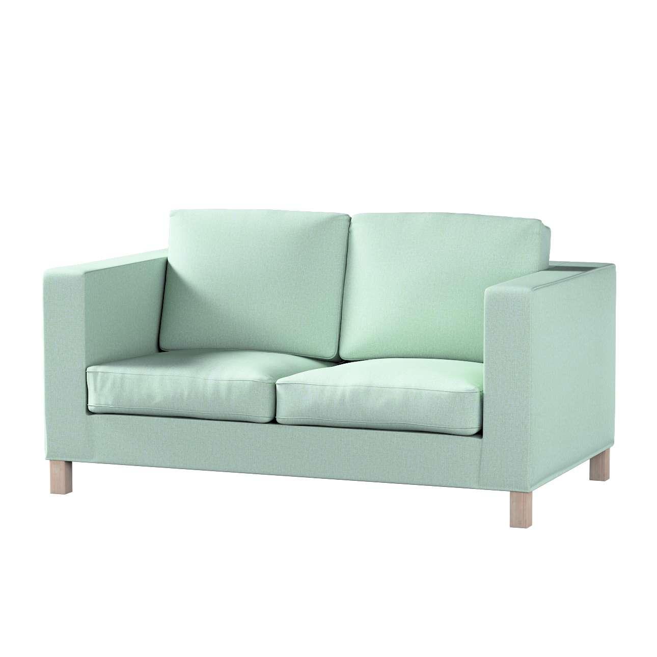 Bezug für Karlanda 2-Sitzer Sofa nicht ausklappbar, kurz von der Kollektion Living, Stoff: 161-61