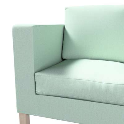 Pokrowiec na sofę Karlanda 2-osobową nierozkładaną, krótki w kolekcji Living, tkanina: 161-61
