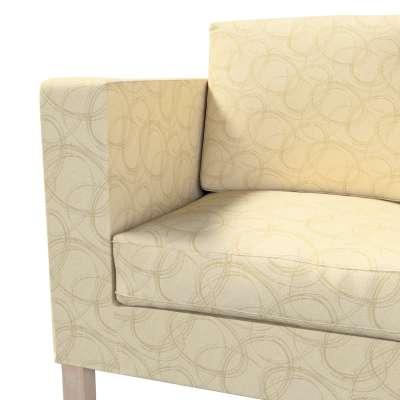 Pokrowiec na sofę Karlanda 2-osobową nierozkładaną, krótki w kolekcji Living, tkanina: 161-81