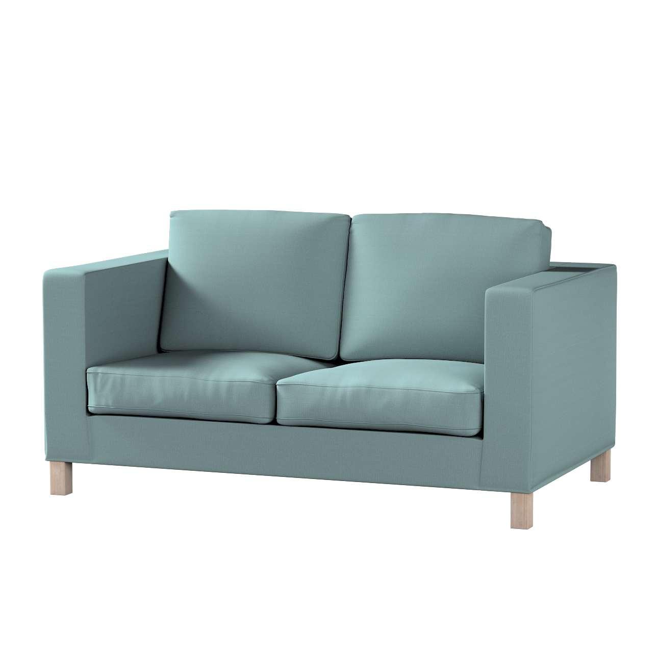 Huzat Karlanda 2-üléses kanapéra, nem kinyitható, rövid a kollekcióból Cotton Panama Bútorszövet, Dekoranyag: 702-40