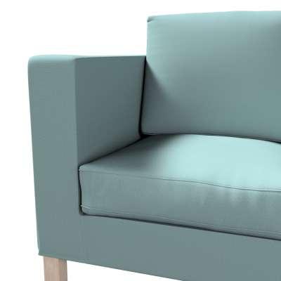 Karlanda betræk 2 sæder, kort fra kollektionen Cotton Panama, Stof: 702-40