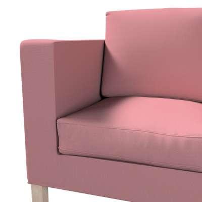 Pokrowiec na sofę Karlanda 2-osobową nierozkładaną, krótki w kolekcji Cotton Panama, tkanina: 702-43