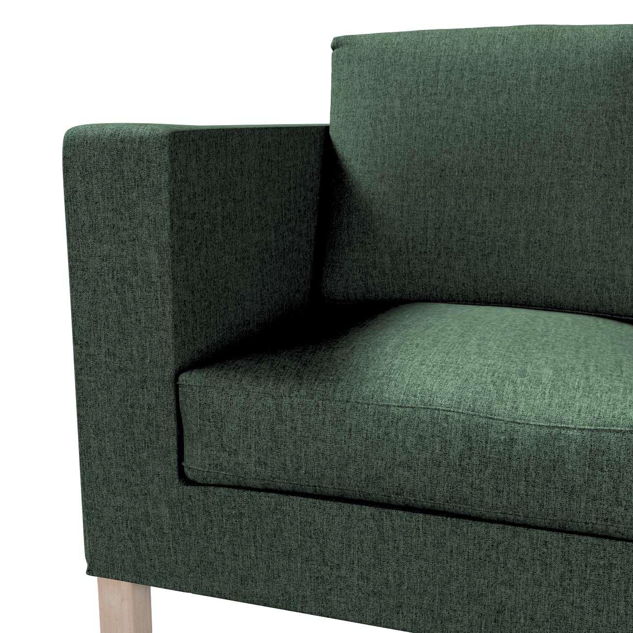 Pokrowiec na sofę Karlanda 2-osobową nierozkładaną, krótki w kolekcji City, tkanina: 704-81