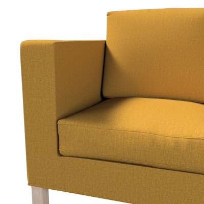 Pokrowiec na sofę Karlanda 2-osobową nierozkładaną, krótki w kolekcji City, tkanina: 704-82