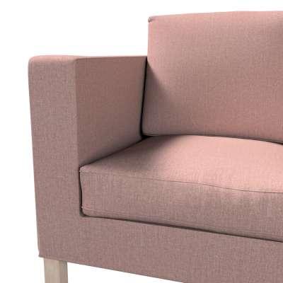 Pokrowiec na sofę Karlanda 2-osobową nierozkładaną, krótki w kolekcji City, tkanina: 704-83