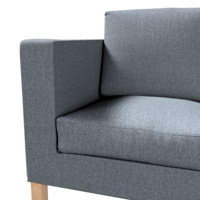 Pokrowiec na sofę Karlanda 2-osobową nierozkładaną, krótki w kolekcji City, tkanina: 704-86