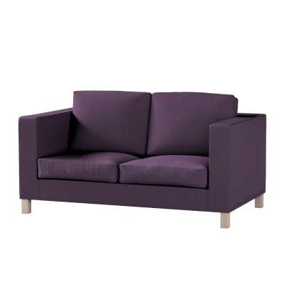 Pokrowiec na sofę Karlanda 2-osobową nierozkładaną, krótki w kolekcji Living, tkanina: 161-67