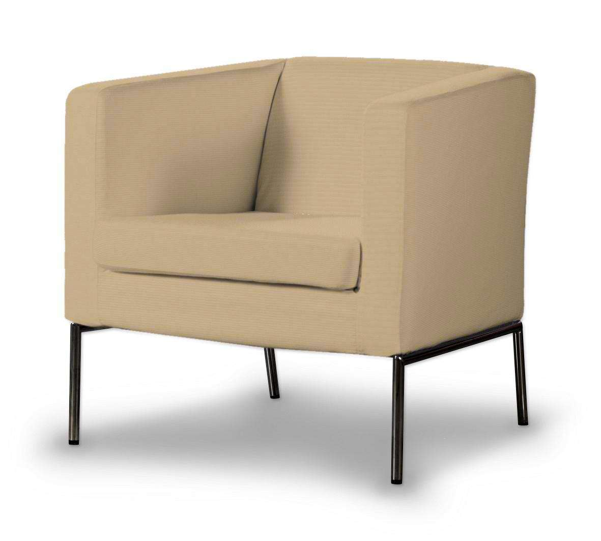 Klappsta betræk lænestol fra kollektionen Cotton Panama, Stof: 702-01
