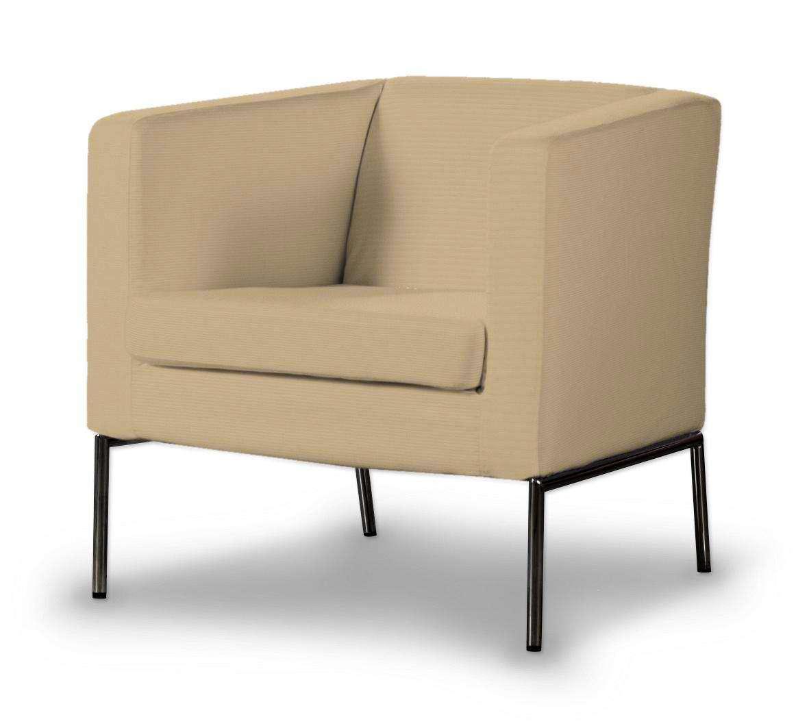 Pokrowiec na fotel Klappsta Fotel Klappsta w kolekcji Cotton Panama, tkanina: 702-01