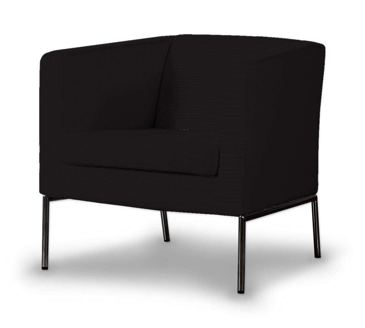 Klappsta Sesselbezug, schwarz, Sessel Klappsta, Cotton Panama