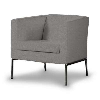 Potah na křeslo IKEA Klappsta, krátký 115-81 šedá Kolekce Edinburgh
