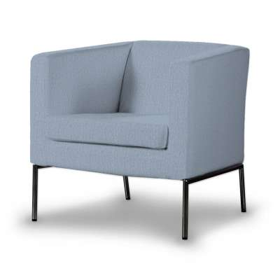 Pokrowiec na fotel Klappsta w kolekcji Chenille, tkanina: 702-13