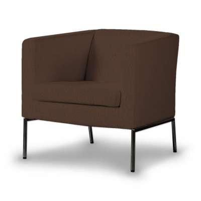 Pokrowiec na fotel Klappsta w kolekcji Chenille, tkanina: 702-18