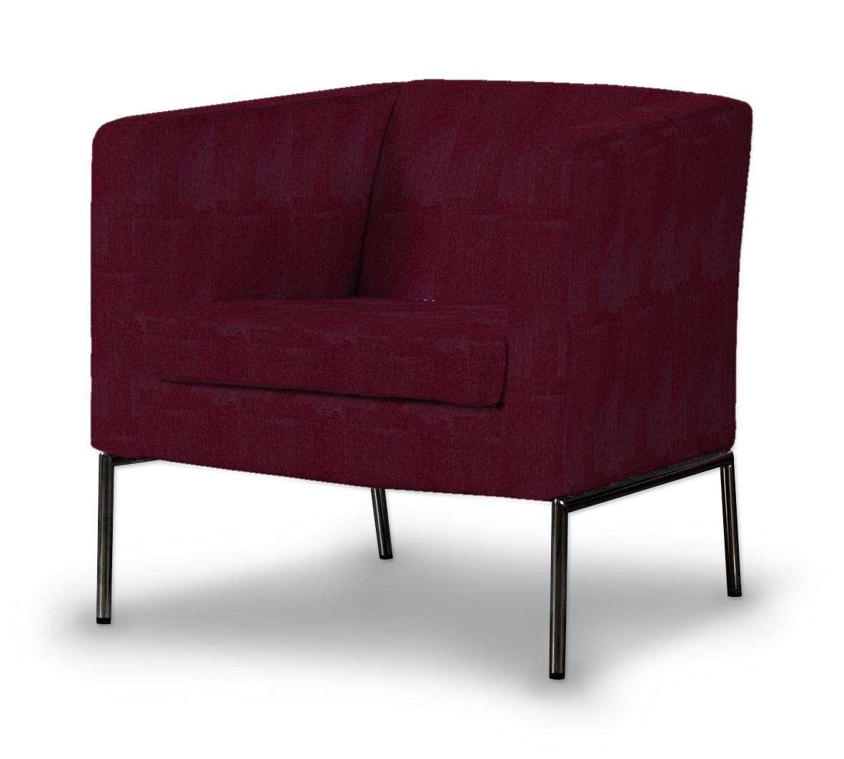 KLAPPSTA fotelio užvalkalas kolekcijoje Chenille, audinys: 702-19
