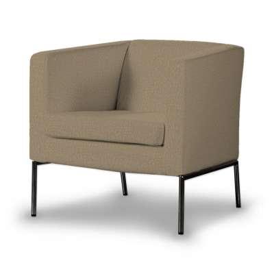 KLAPPSTA fotelio užvalkalas 702-21 kakavinės spalvos šenilinis audinys Kolekcija Chenille