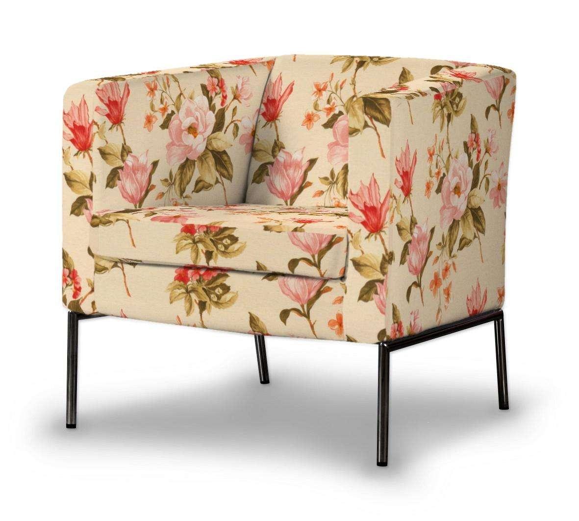 Pokrowiec na fotel Klappsta w kolekcji Londres, tkanina: 123-05