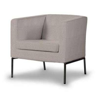 Potah na křeslo IKEA Klappsta, krátký 705-09 šedo-béžová Kolekce Etna