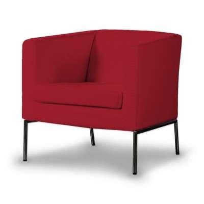 KLAPPSTA fotelio užvalkalas 705-60 raudona Kolekcija Etna