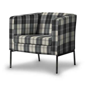 KLAPPSTA fotelio užvalkalas kolekcijoje Edinburgh , audinys: 115-74