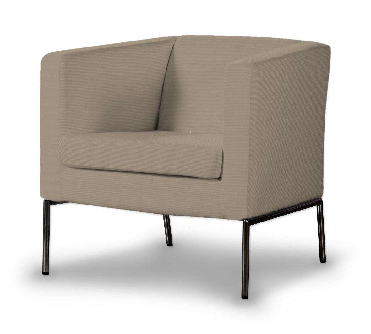 KLAPPSTA fotelio užvalkalas kolekcijoje Cotton Panama, audinys: 702-28
