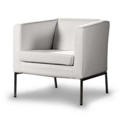 KLAPPSTA fotelio užvalkalas 702-34 balta Kolekcija Cotton Panama