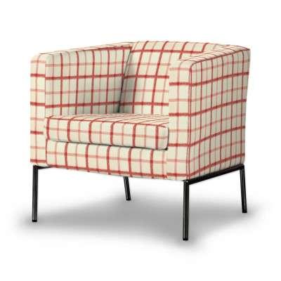 KLAPPSTA fotelio užvalkalas kolekcijoje Avinon, audinys: 131-15