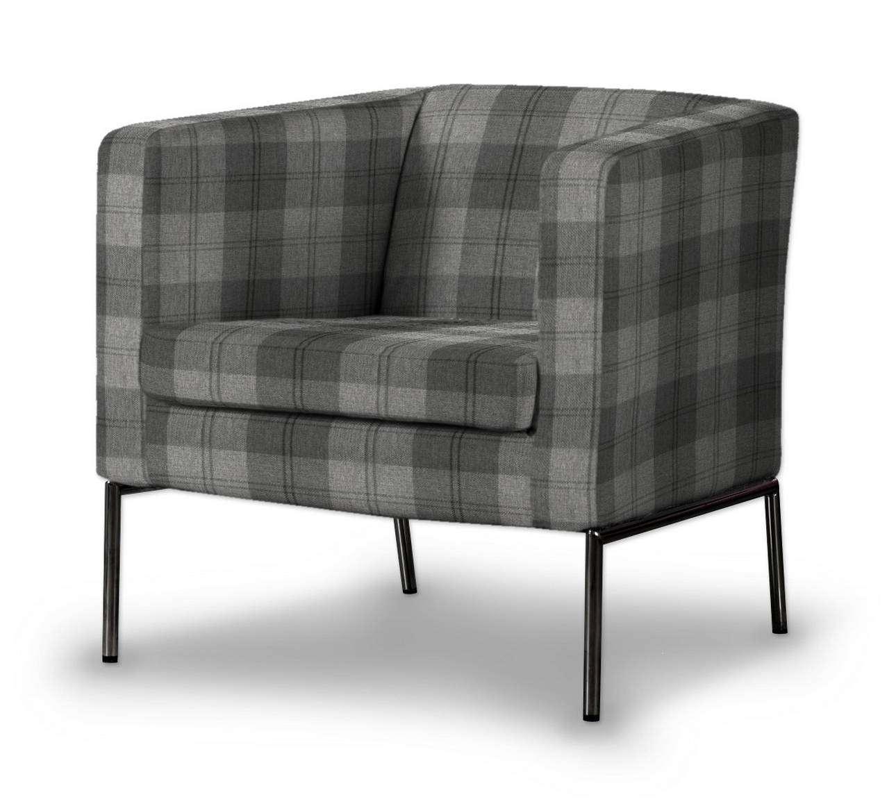 Pokrowiec na fotel Klappsta w kolekcji Edinburgh, tkanina: 115-75