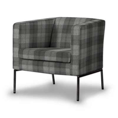 KLAPPSTA fotelio užvalkalas 115-75 tamsiai pilka Kolekcija Edinburgh